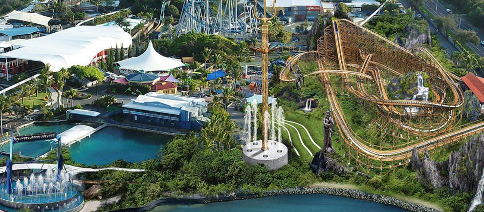 "Artwork ""The New Atlantis"" © Sea World Australia"