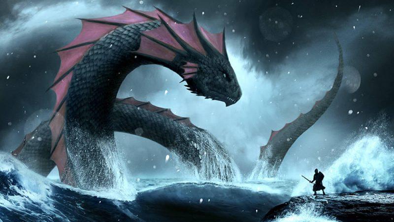 """Der """"Leviathan"""" erhebt sich aus dem Meer © Sea World Australia"""