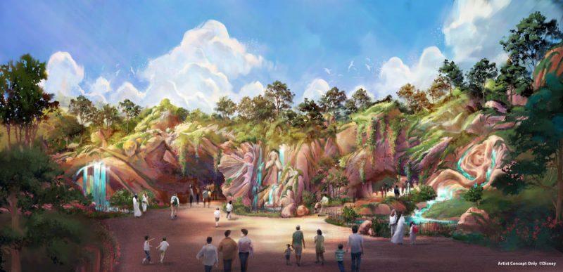 Tokyo DisneySea Fantasy Springs Artwork Eingang Tag