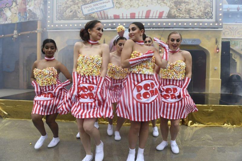 """Ganz so schlimm das diese """"Popcorn Revenge"""" nicht aus © Walibi Belgium"""