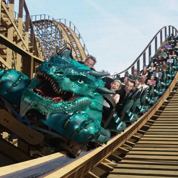 """Ein Blick auf den Zug von """"Leviathan"""" © Sea World Australia"""