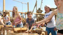 """Riesen Spaß erwartet die Besucher im """"Sägewerk"""" © Erlebnispark Tripsdrill"""