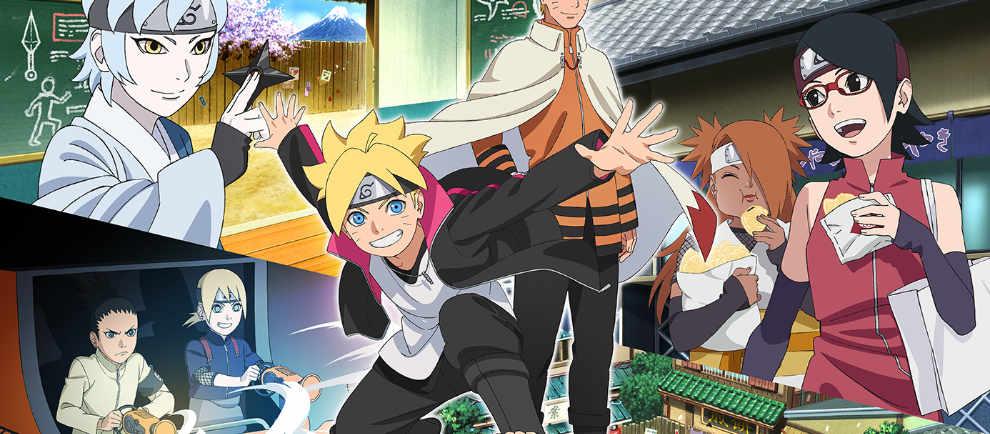 Naruto und Boruto kommen ins Fuji-Q © Fuji-Q Highland