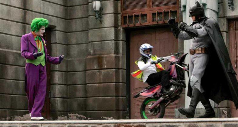 Parque Warner Batman Stuntshow