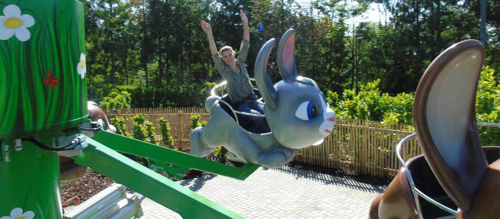 """Hoch die Hände auf """"Klotti Karotti"""" ! © Wild- und Freizeitpark Klotten"""