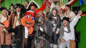 Bald startet der Piratentag in Kernie's Familienpark © Wunderland Kalkar