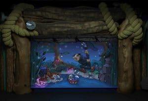 """Eine der Szenen aus dem """"Swamp Adventure"""" © Lagotronics Projects"""