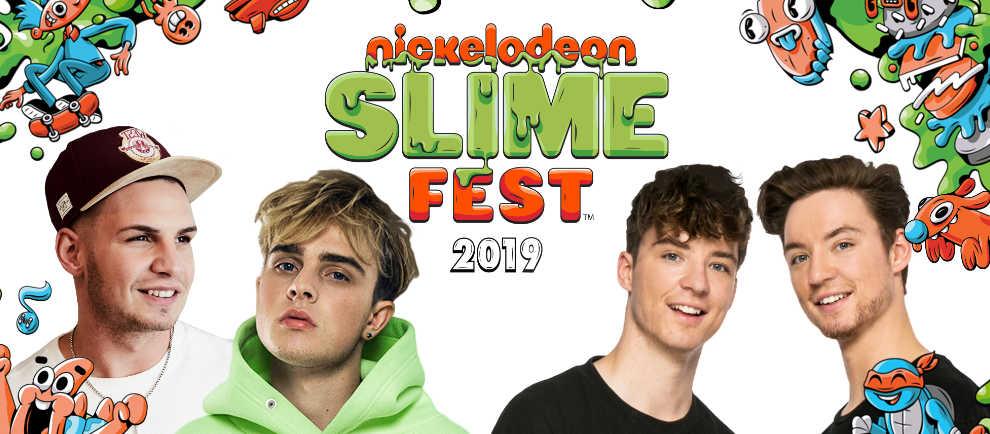 3 Tage unfassbaren Spaß im Movie Park Germany! Das Nickelodeon SlimeFest kommt! © Movie Park Germany