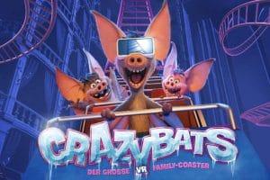 """Verrückt und drollig zugleich! Die """"Crazy Bats"""" im Phantasialand © Phantasialand"""