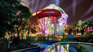 """Sehr beeindruckend! Das """"SlideWheel"""" im Chimelong Waterpark © WhiteWater"""