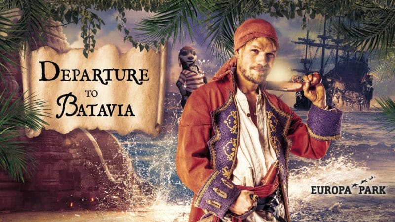 """Departure to Batavia"" kommt 2020 in das ""Magic Cinema 4D"" © Europa-Park Resort"