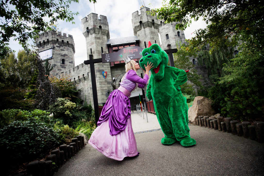 Prinzessin trifft Drache © Legoland Billund