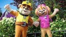 Skye and Rubble verstärken Paw Patrol Familie © Movie Park Germany