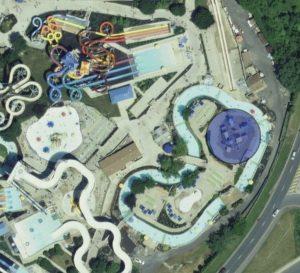 """Im Blau eingekreisten Bereich befindet sich das aktuelle """"Island Water Works"""" © Apple"""
