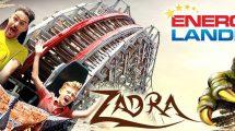 """Durch den Drachenklauen hindurch! """"Zadra"""" der Hybrid-Coaster in EnergyLandia"""