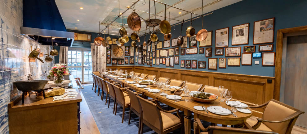 "Der exklusive Chefs Table des Restaurants ""Tre Krønen"" © Europa-Park Resort"