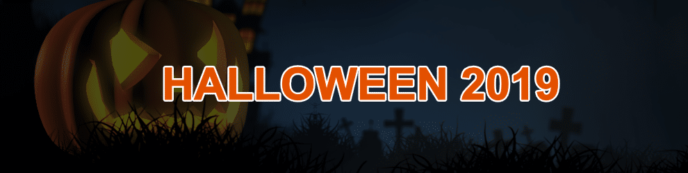 Finde alles über die Halloween Events 2019 heraus!