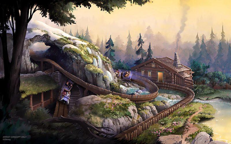 hong kong disneyland wandering oakens sliding sleighs konzept