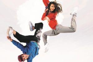 Junge Tanzakrobaten beim DAK Dance-Contest © DAK Gesundheit