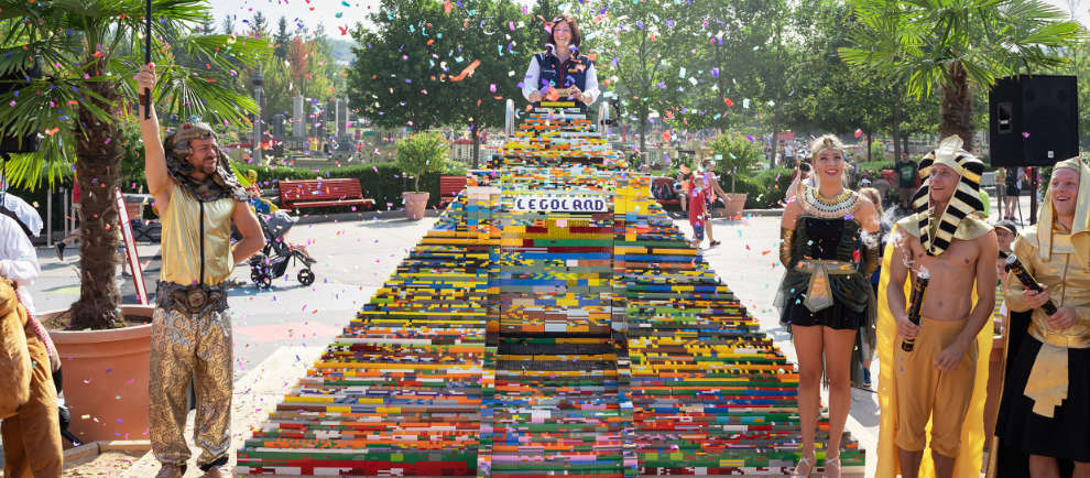 legoland deutschland resort lego pyramide