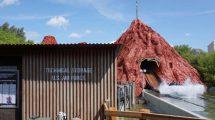 """Nevada mitten in Bottrop! Die """"Area 51 - Top Secret"""" im Movie Park Germany © Denise Hippe/ThemePark-Central.de"""