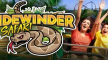 """Sidewinder Safari"" © Six Flags Discovery Kingdom"