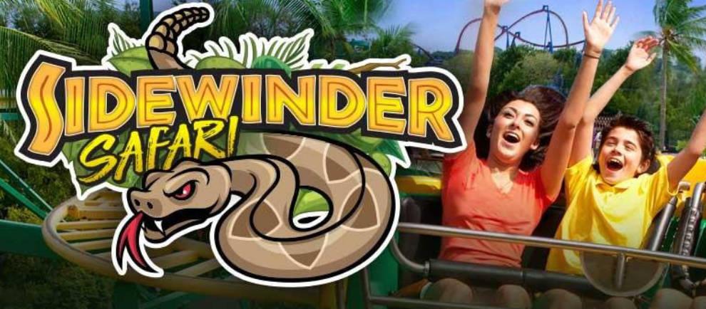 """Sidewinder Safari"" © Six Flags Discovery Kingdom"