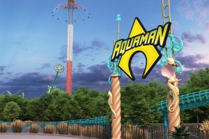 """Aquaman: Power Wave"" spiegelt den DC Helden sehr gut wieder! © Six Flags Over Texas"