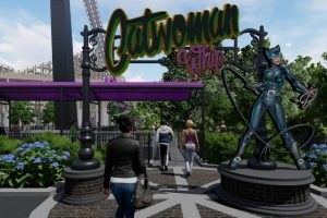 six flags st louis catwoman whip eingang konzept