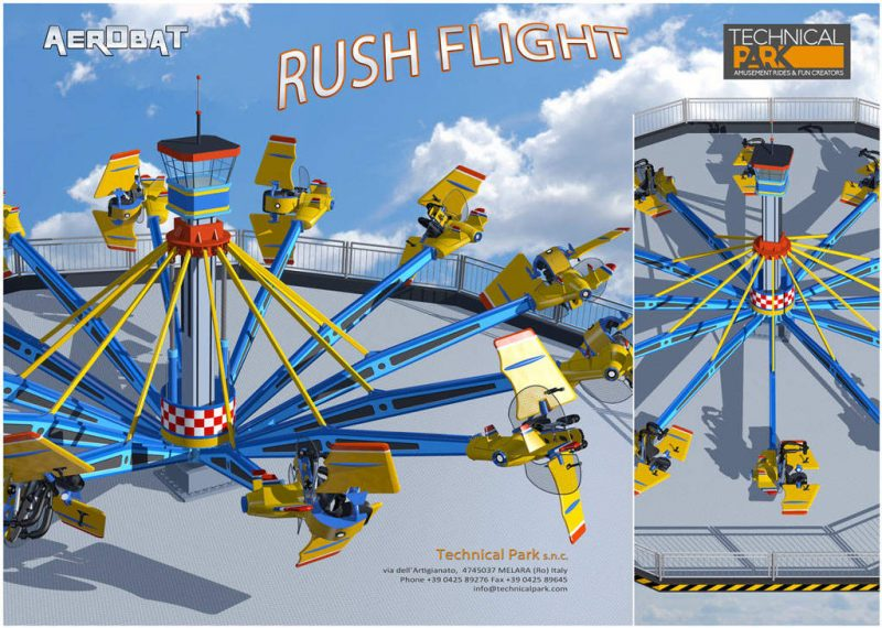 """Aerobat Rush Flight"" im Detail © Technical Park"