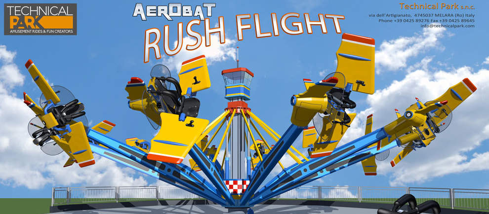 """Aerobat Rush Flight"" © Technical Park"