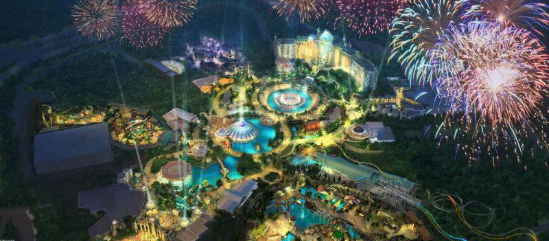 """Das Konzept zeigt das Ausmaß von """"Universal's Epic Universe"""" © Universal Studios Orlando"""