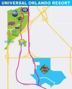 Hier wird der neue Park entstehen © Universal Studios Orlando
