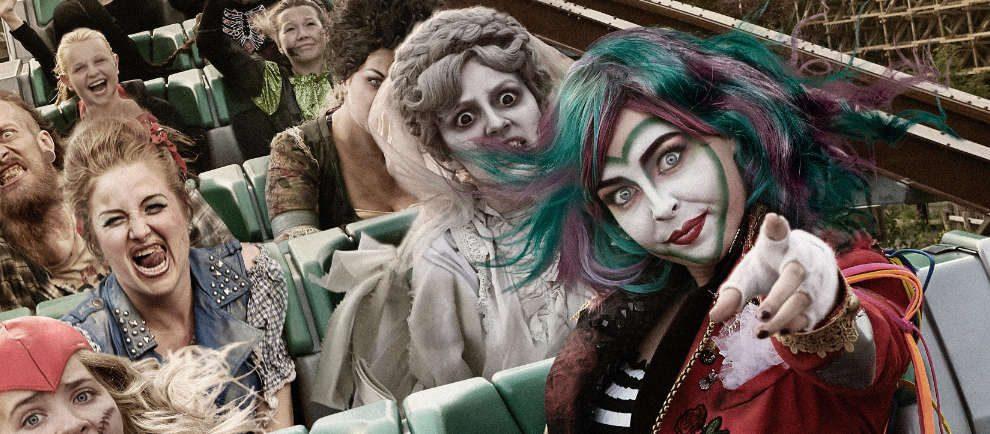 """Etwas freundlichere Monster warten während der """"Halloween Spooky Days"""" © Walibi Holland"""