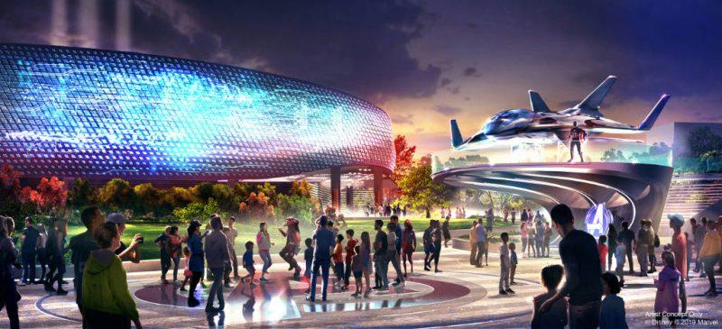 DisneylandParis AvengersCampus1