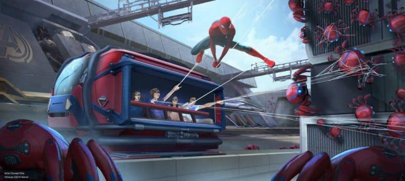 DisneylandParis SpiderManAttraction