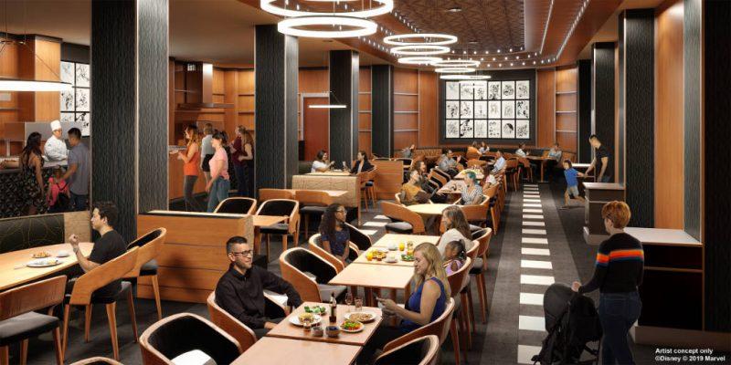 Disneys Hotel New York Downtown Diner