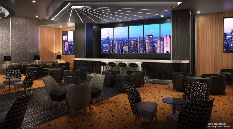 Disneys Hotel New York Skyline Bar