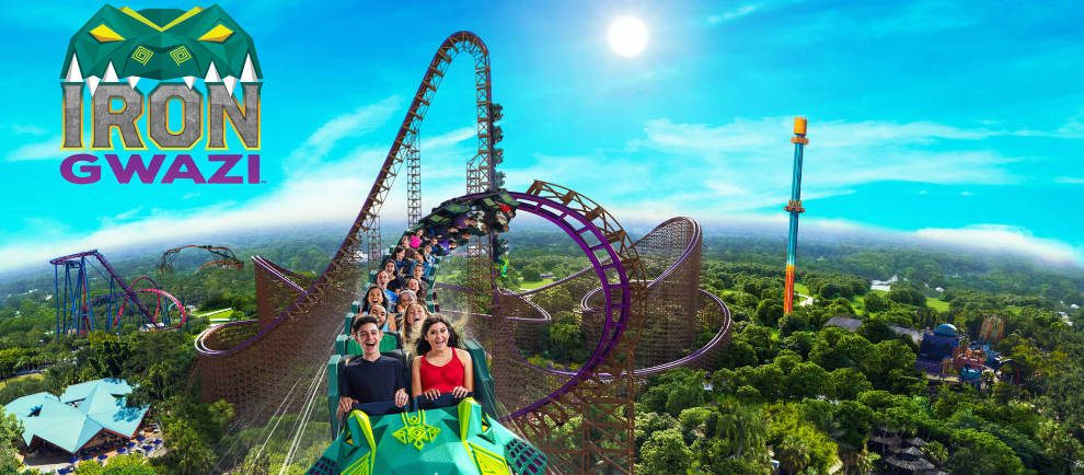 """""""Iron Gwazi"""" setzt neue Maßstäbe! © Busch Gardens Tampa Bay"""