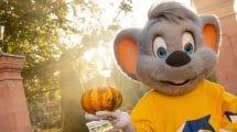 Ed Euromaus freut sich auf die Halloween-Saison im Europa-Park © Europa-Park Resort