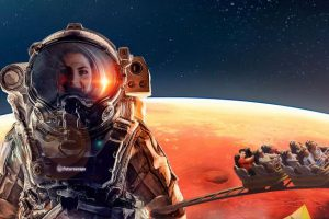 "Auf gehts zum Mars! ""Objectif Mars"" der Launch-Coaster in Futuroscope © Futuroscope"