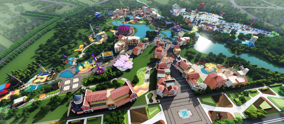 Ein erster Blick auf das Legoland Sichuan Resort in China © Merlin Entertainments