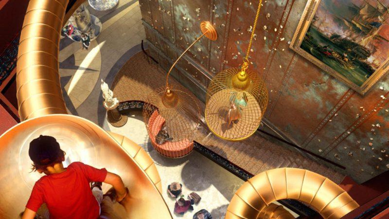 """Wunderschön gestaltet ist das """"Grand Curiosa Hotel"""" © Liseberg"""