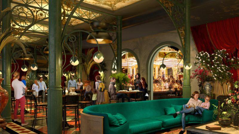 So wird das Restaurant später aussehen © Liseberg