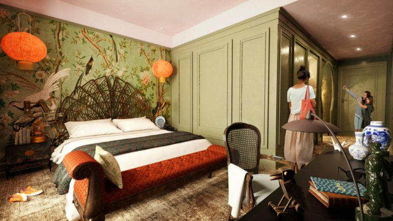 """Ein weiterer Blick in ein Zimmer des """"Grand Curiosa Hotel"""" © Liseberg"""