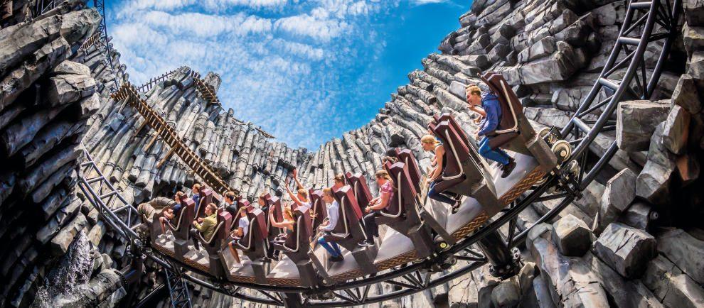 Multi-Launch-Coaster Taron © Phantasialand