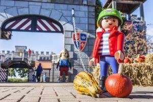 Der Herbst wird spannend im Playmobil FunPark © Playmobil FunPark