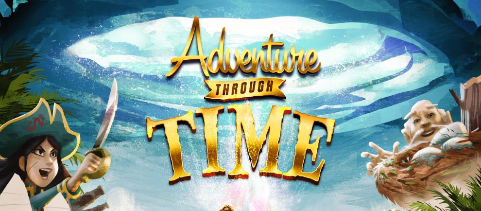"""Adventure Through Time"" © Sally Corp"