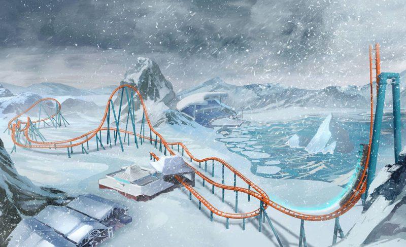 seaworld orlando icebreaker strecke