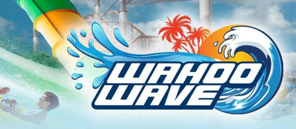 """Wahoo Wave"" © Six Flags Darien Lake"